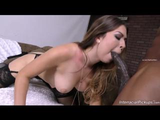 Melissa moore  (InterracialPickups - DogFart) blacks on blondes whore slut cum gonzo негр снял шлюху и трахнул