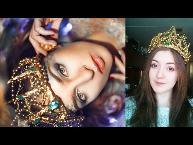 Корона русалочки своими руками mermaid crown diy