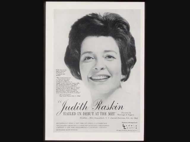 Judith Raskin sings Micaelas aria from Carmen