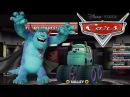 Мультики про Машинки. МОНСТР ТРАК Салли против Молнии МАКВИН и Мэтра. Monster Trucks. Мультик игра