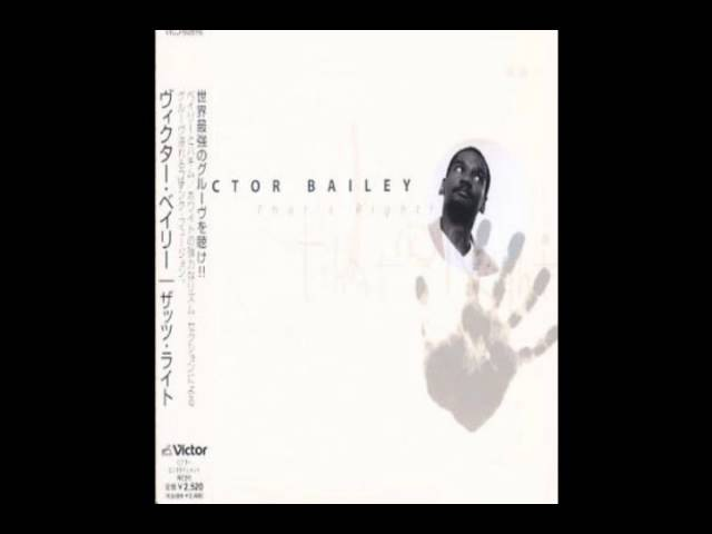 Victor Bailey 2001 That's Right full album