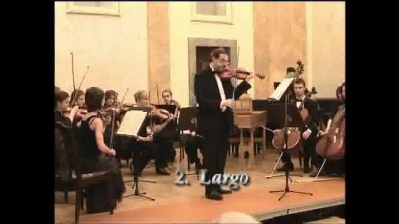 Antonio Vivaldi Concerto in A minor from L'estro armonico No 6 op 3