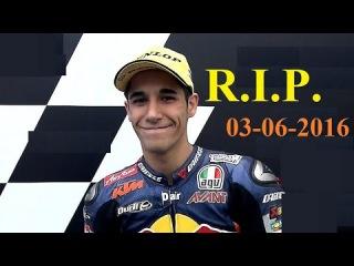 GP Catalunya di Moto2 Dead Luis Salom [ZOOM SLOW MOTION]Moto impact Il video dell'impatto Barcellona