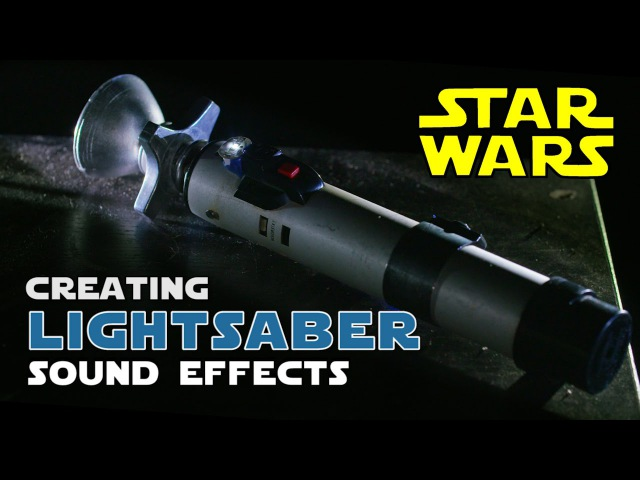 How to create STAR WARS Lightsaber sound effects Shanks FX PBS Digital Studios
