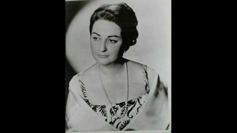 Montserrat Caballe - Lascia chio pianga