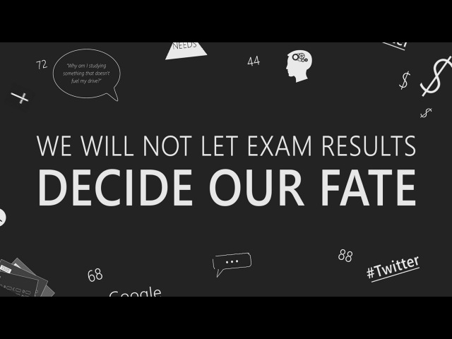 I Will Not Let An Exam Result Decide My Fate || Kinetic Typography