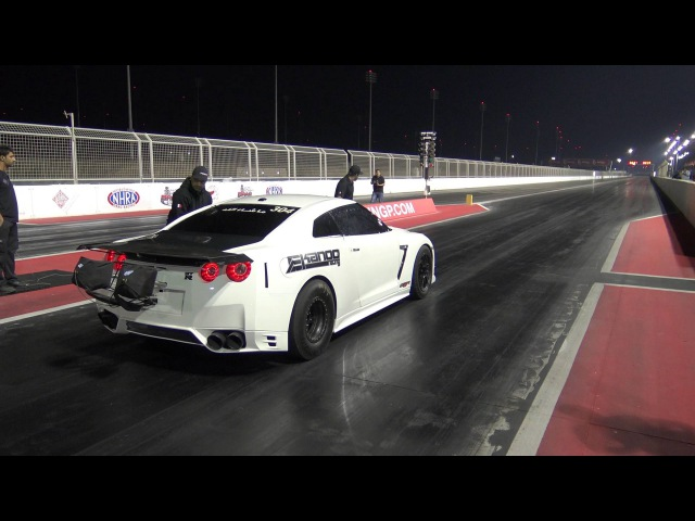 EKanooRacing's T1 R35 GTR Runs 7 366@331KM H 206MPH New World Record