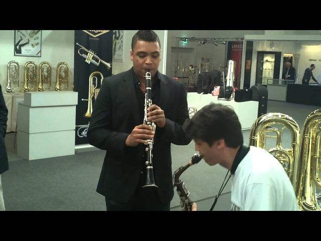 Take5 played by saxroyal solo Wolfram Dullnig 2013 and Felix Peikli