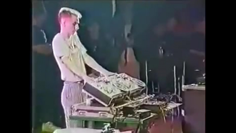 Mr. Tape (Modris Skaistkalns) Латвия на финале DMC World 1991