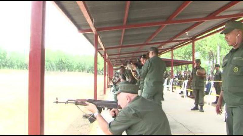 Вести.Ru: Армейские игры в Никарагуа: оружие в руки взяли жены офицеров