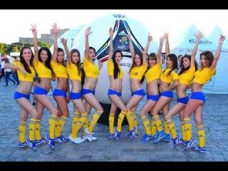 Украинские футбольные няши (болельщицы) Playboy