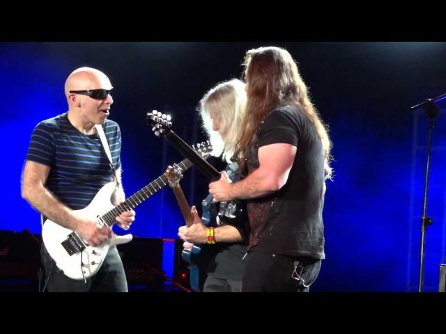 Joe Satriani / John Petrucci / Steve Morse - Really Got Me (The Kinks) White Room (Cream) - G3 (2013)