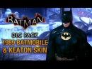 Batman Arkham Knight 1989 Batmobile Keaton Skin Race Tracks Free Roam Gameplay