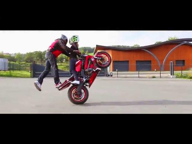 EXTREME TANDEM !! StuntLife 5: Perfect Match Cokille stunt rider