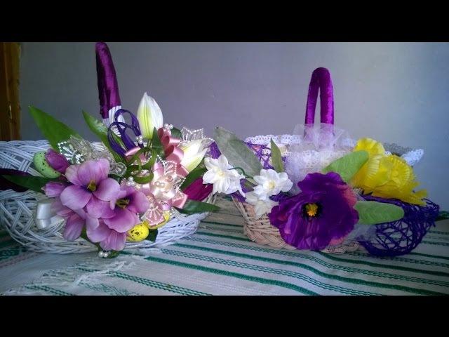 Декорування Пасхального кошика Decorating of the Easter basket