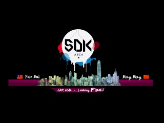 "SDK ASIA 2015 Final Locking - Yao Bai Vs BingBing ""Organzined by Jamcityhk Limited"""