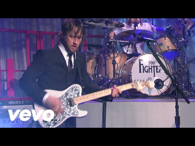 Foo Fighters Times Like These Live on Letterman