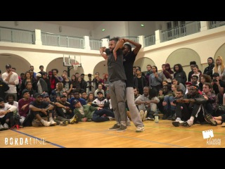HIP HOP FINAL Majid & P-Dog vs Franky Dee & Ray Boom | Bordaline Battle