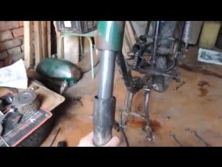 Реставрация мотоцикла Минск_ Полная разборка.Часть 2