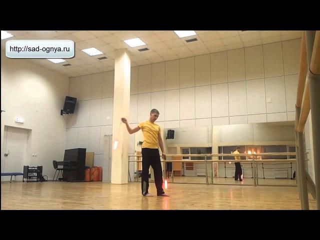 Видео уроки поинга: Антиспиновой цветок - Anti-spin flower