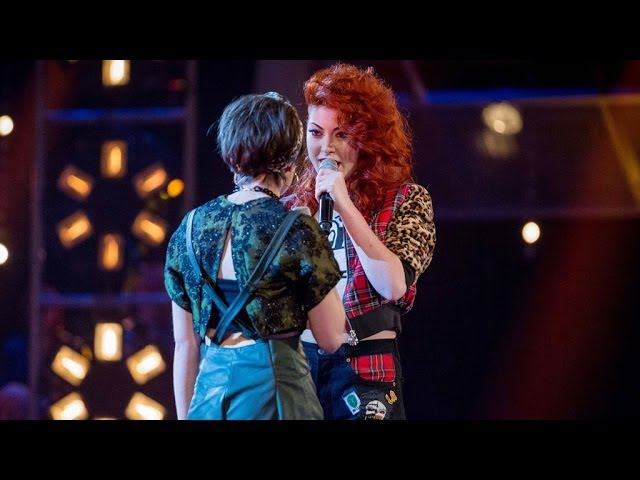 Anna Mcluckie Vs Jessica Steele Battle Performance The Voice UK 2014 BBC One