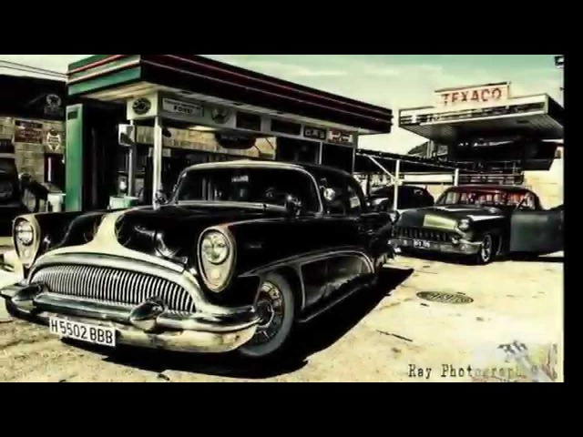 Rockabilly Music Hot Rod Cars