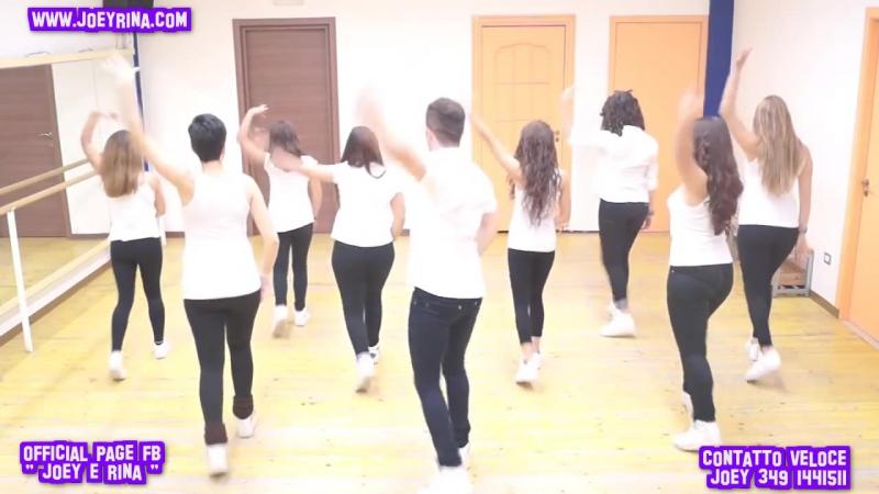 JoeyRina BAILANDO Impara i Passi Balli di Gruppo 2015 Line Dance