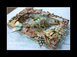 Mixed Media Nature Canvas Tutorial by Gabrielle Pollacco