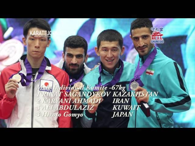 AKF2015 -67kg CHAMPION RINAT SAGANDYKOV (KAZ) -55kg CHAMPION Tzu-Yun Wen (TPE) DIGEST