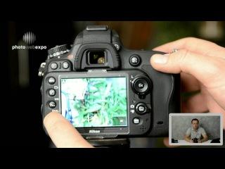 Nikon D610. Интерактивный видео тест. Часть 1