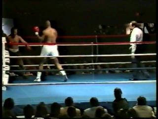 "Tim ""Doc"" Anderson vs George Foreman 1987 Part 1"