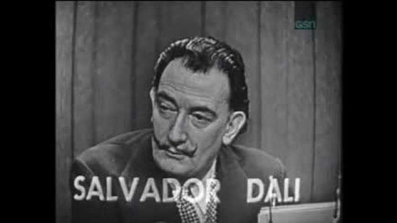 Salvador Dali on What's My Line