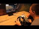 LS15 Gamescom 2015 LS Lenkrad Pedale und Steuereinheit im Einsatz