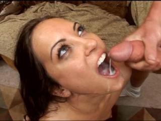 Jamie huxley (brandon iron productions cum swallow scenes) красотка глотает сперму. порно