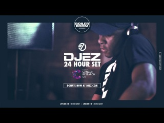 DJ EZ 24hr Set in Aid of Cancer Research UK