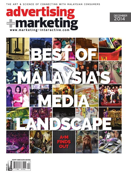 Advertising Marketing Malaysia Magazine - December 2014
