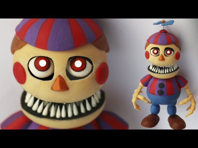 NIGHTMARE BALLOON BOY TUTORIAL ✔PORCELANA FRIA ✔POLYMER CLAY ✔PLASTILINA