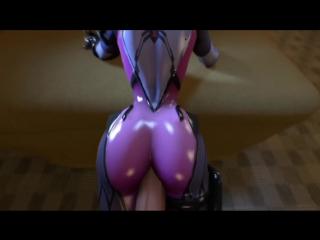 Overwatch sex porno collection 3d xxx tracer d.va