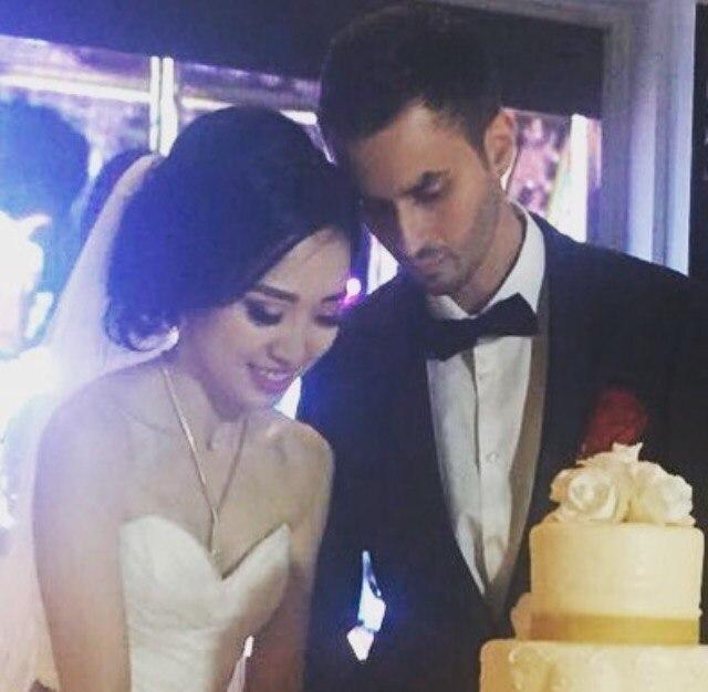 Арман Давлетяров: Поздравляю мою родную племянницу Нелли и её супруга с бракосочетанием! Счастья вам, любви и радости! Мы вас любим! Храни вас всегда всевышний!❤️💑😘🙏👏💐