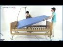 Медицинская кровать Arminia в комплекте с матрасом