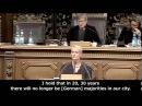 Stefanie von Berg Grüne freut sich, das Deutschen bald in der Minderheit sind