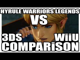 COMPARISON / Hyrule Warriors Legends // HEAD TO HEAD / 3DS VS WiiU