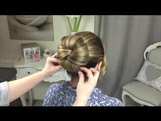 The twisted bun by sweethearts hair design