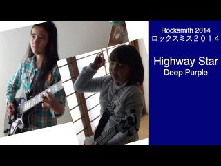 Audrey & Kate Play ROCKSMITH #358 - Highway Star - Deep Purple - ロックスミス