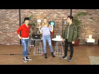 "[HeyoTV] how to dance 4 minute 'HATE' "" with Nam JiHyun, Kim Min Jae & Park Sihwan ()"