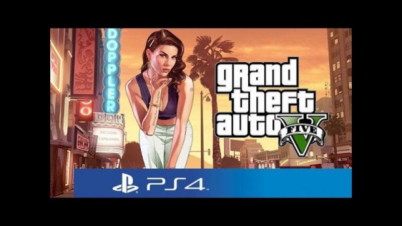 GTA V Next Gen PS4 ПК прохождение 23 с озвучкой из 90х разгадываем таинственные убийства