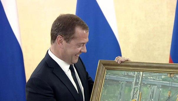 части картина в цеху подарок медведеву фото сути, это научный