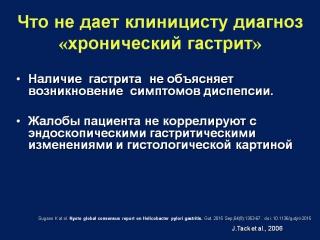 Профессор Захарова Н.В. Гастрит.