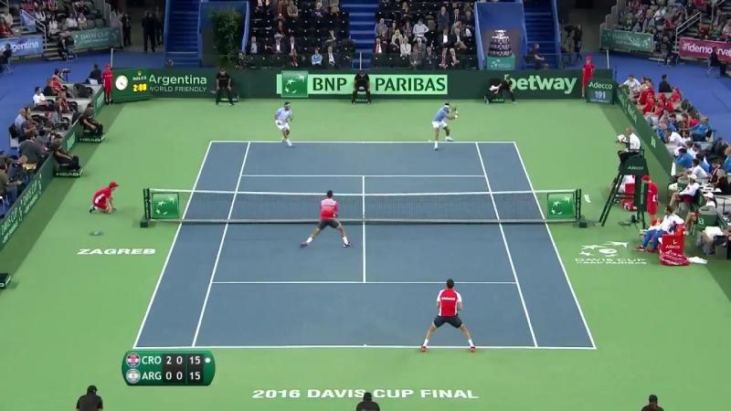 Davis Cup Final Shot of the Day - Ivan Dodig (CRO)