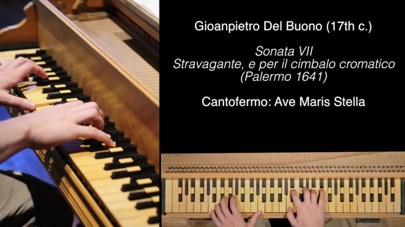 Gioanpietro del Buono Sonata VII Stravagante e per il Cimbalo Cromatico
